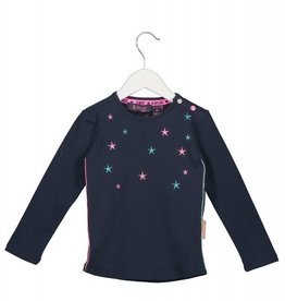 B. Nosy baby ls shirt with star embroidery