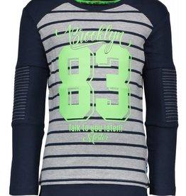B. Nosy boys fake raglan shirt. with fake under part