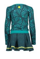 B. Nosy girls AO printed dress with plain skirt