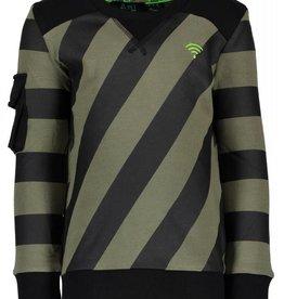 B. Nosy boys sweater with slanted stripes