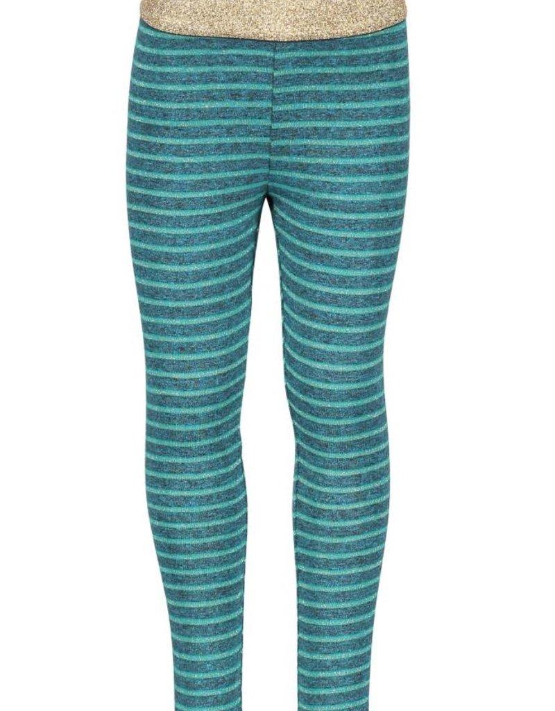 B. Nosy girls plain lurex stripe legging