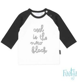 Feetje Longsleeve new black The Coolest
