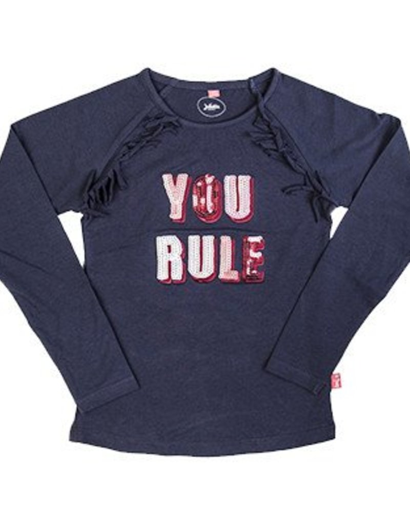 Little miss juliette You rule Long-Sleeve Navy