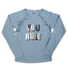 Little miss juliette You rule Long-Sleeve blue