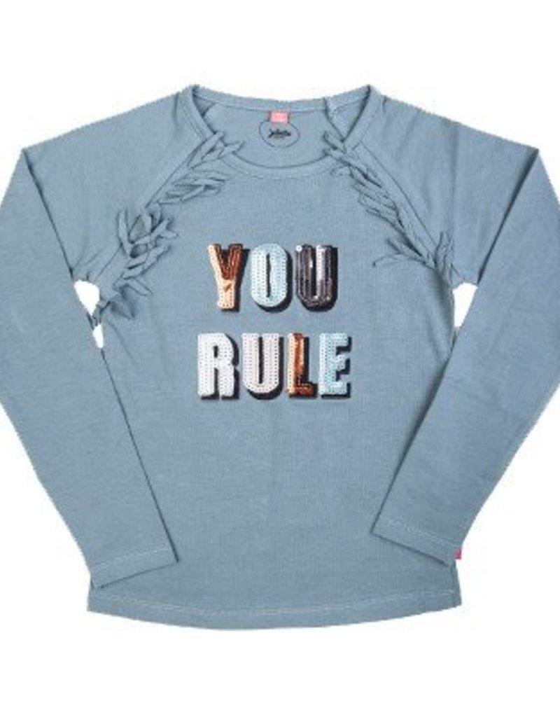 Little miss juliette You rule Long-Sleeve blue