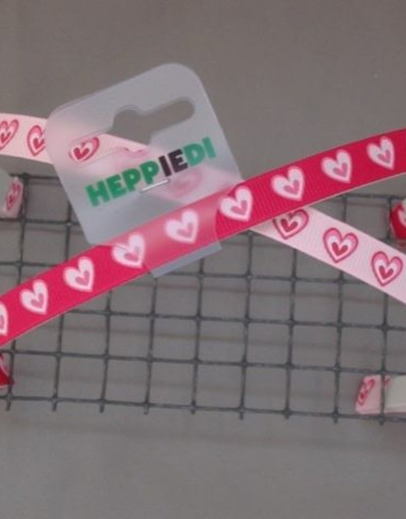 Heppiedi Diadeem roze hartjes