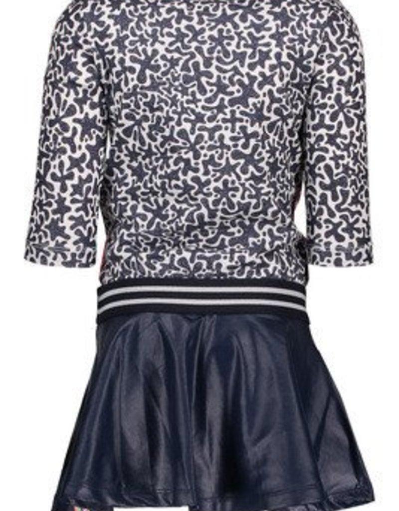 B. Nosy Girls skater dress with coated skirt part