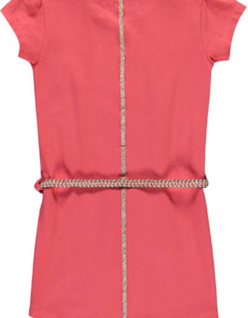 Quapi Basic Dress Saar 1 - Sugar Coral