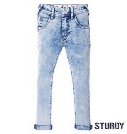 Sturdy Light blue slim fit denim