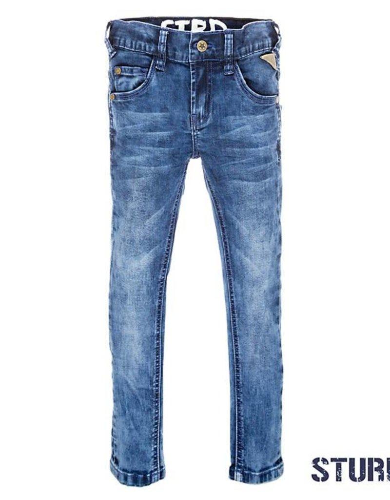 Sturdy Spijkerbroek Power Streched Blue Denim
