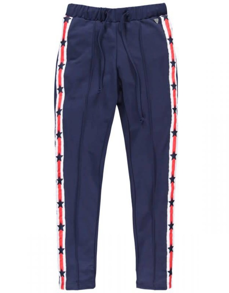 Cars Jeans Broek Kids Drea Stripe SW Pant Navy