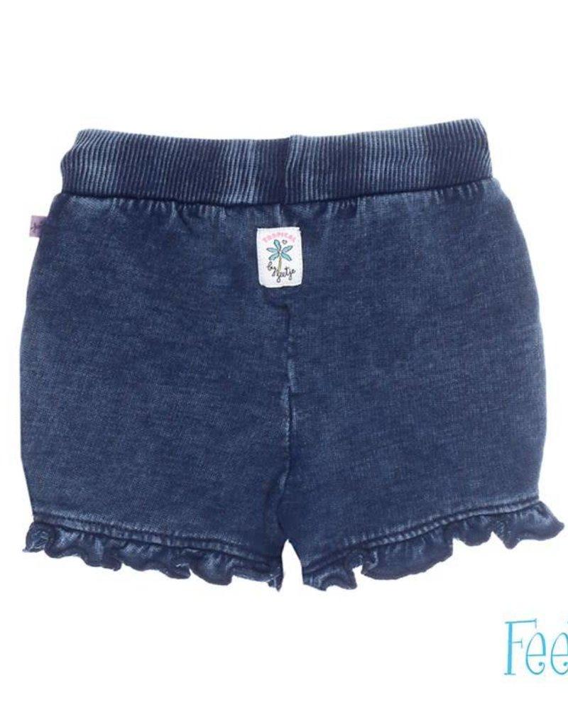 Feetje Short uni Tropical girl