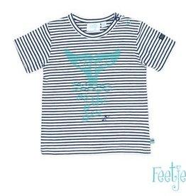 Feetje T-shirt k/m streep Ocean Life