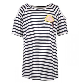 Cars Jeans Kids  Callie TS Stripe Off White