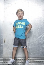 B. Nosy Boys FEARLESS shirt with rib at neck and sleeve
