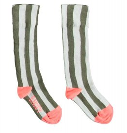 B. Nosy Girls socks stripe
