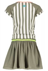 B. Nosy Girls stripe dress with plain skirt