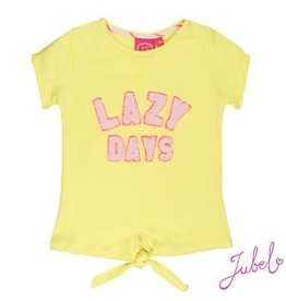 Jubel T-shirt k/m lazy days La Isla