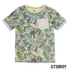 Sturdy T-shirt k/m palm AOP Sunray