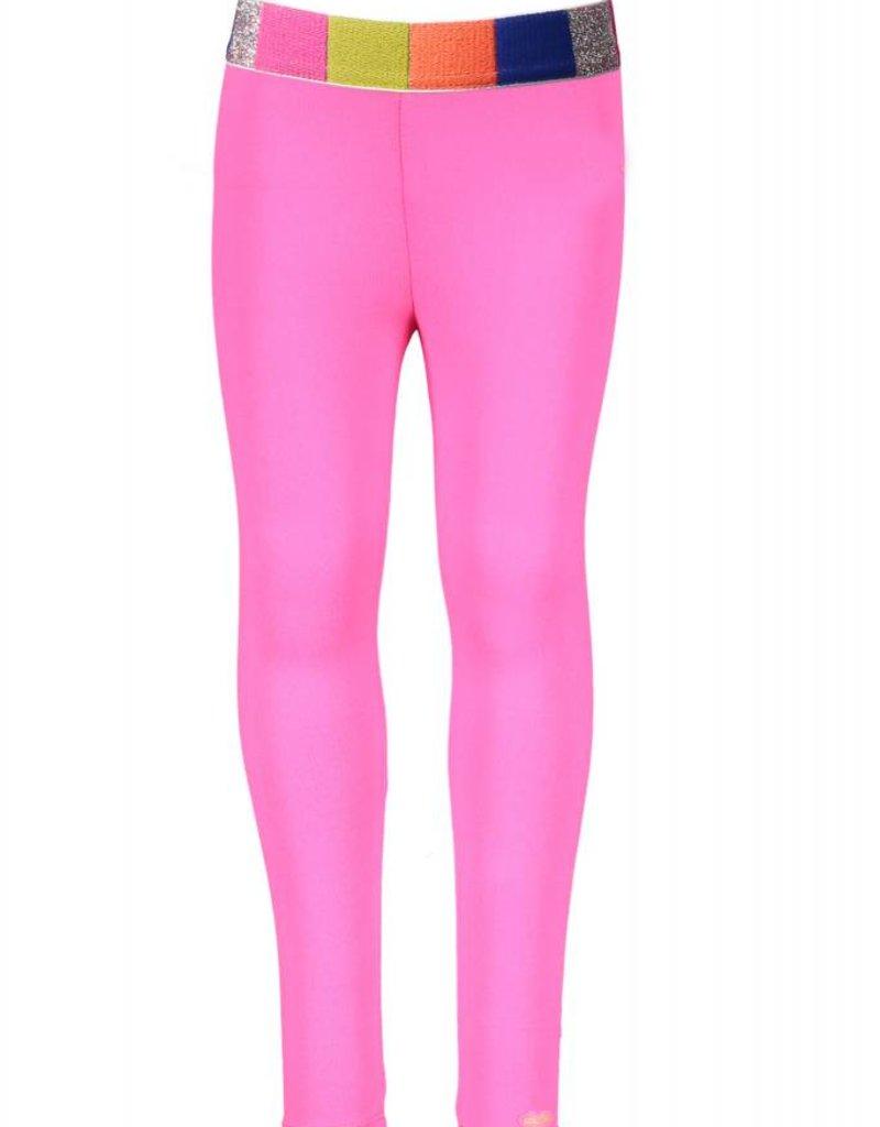 Kidz Art Legging plain with multi color elastic waist