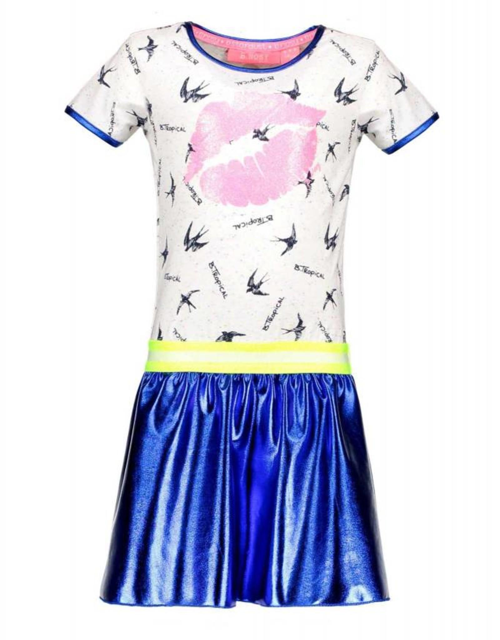 B. Nosy Girls bird dress with coated skirt