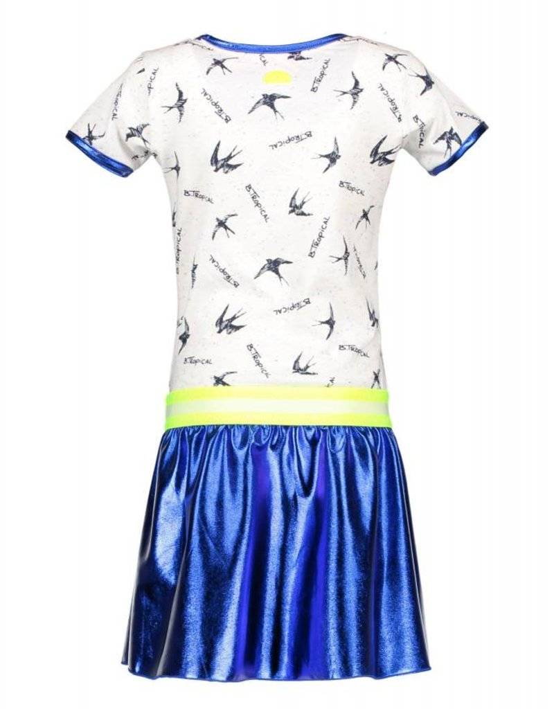 B. Nosy Girls bird dress with coated skirt