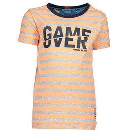 B. Nosy Boys stripe shirt neon orange