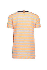 B. Nosy Boys stripe shirt neon orange