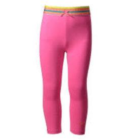 Kidz Art Legging plain + striped elastic waist