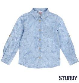 Sturdy Overhemd denim AOP