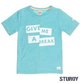 Sturdy T-shirt k/m give me a break Pool party