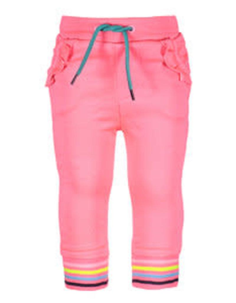B. Nosy Baby girls long pants, with stripe print on cuff