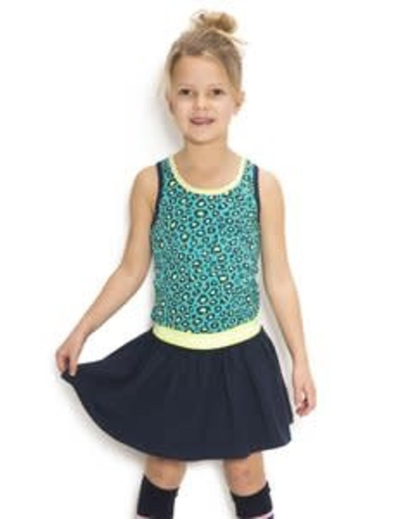 B. Nosy Girls jersey dress with rib neck, elastic waistband