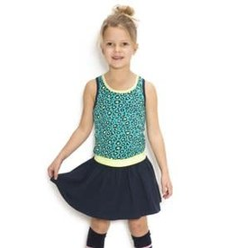 B. Nosy Girls jersey dress with rib neck, elastic waistband