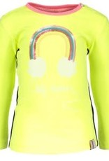 B. Nosy Baby girls ls shirt with rainbow