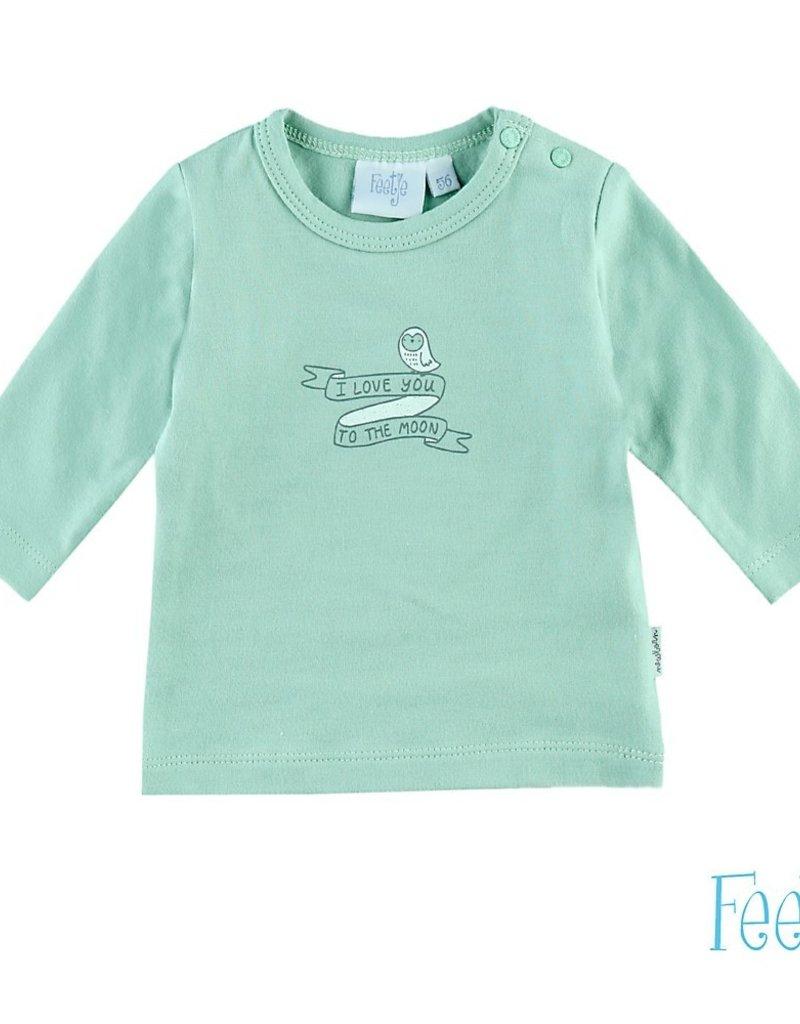 Feetje T-Shirt l/m Too the moon - Owl Love You