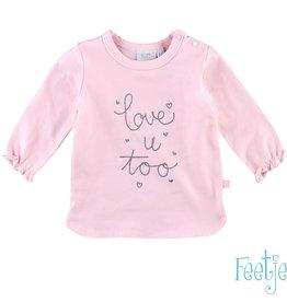 Feetje T-Shirt l/m Love u too Lovely
