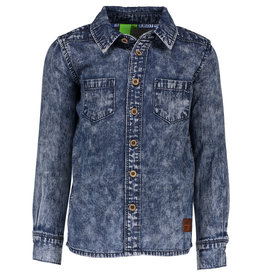 B. Nosy Boys denim blouse with pr blue denim