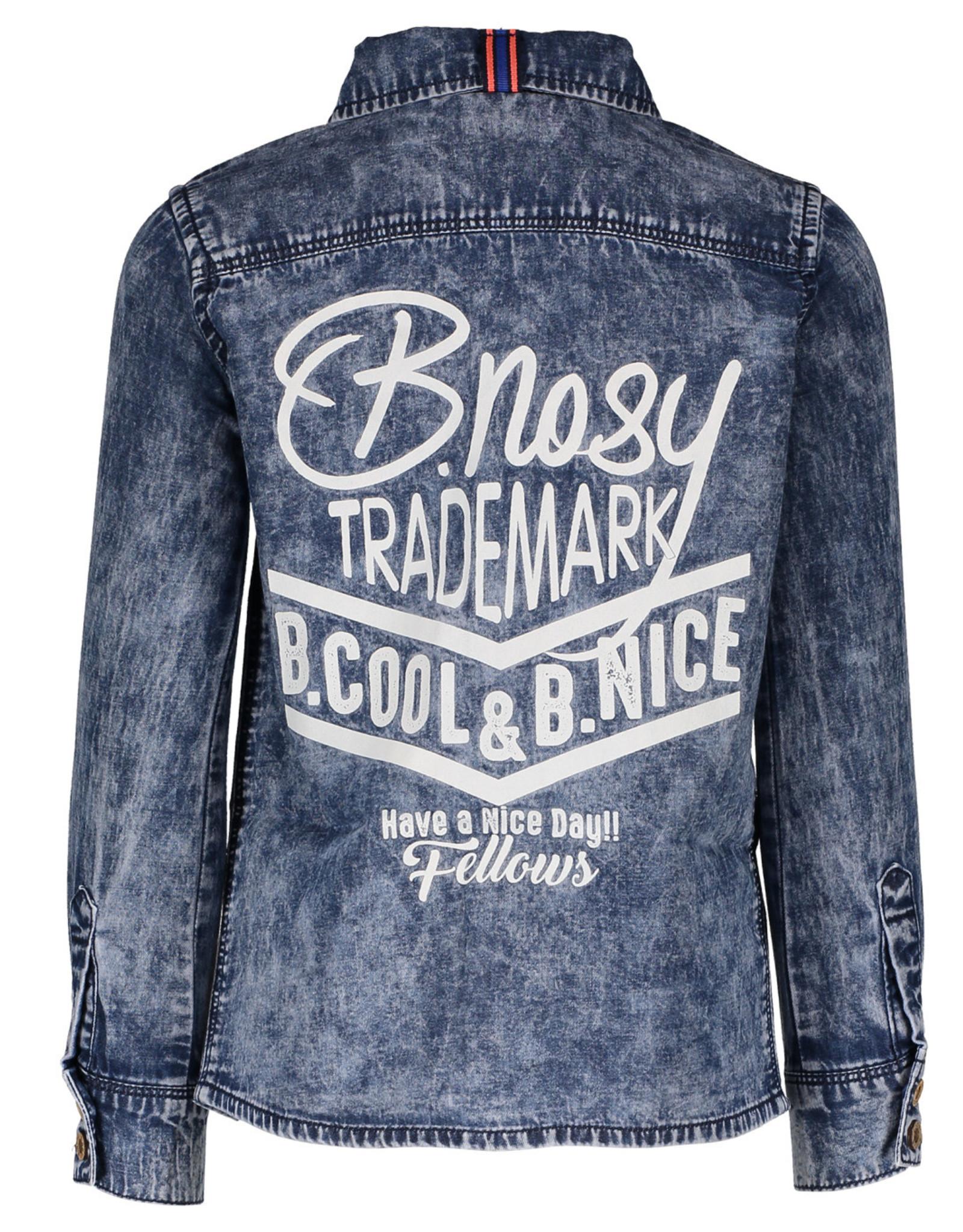 B. Nosy Boys denim blouse with pr blue denim