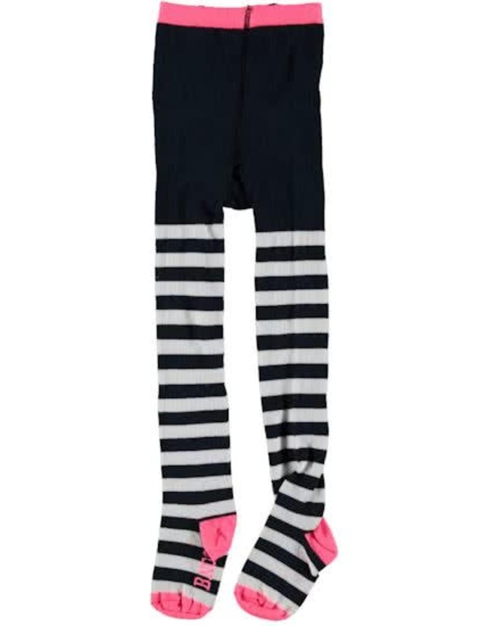 B. Nosy Girls maillot AO stripe marsh mallow + midnight