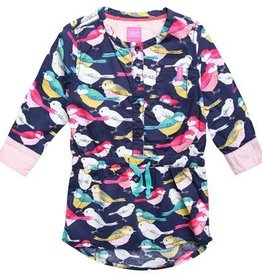 Beebielove Jurk Cotton birds