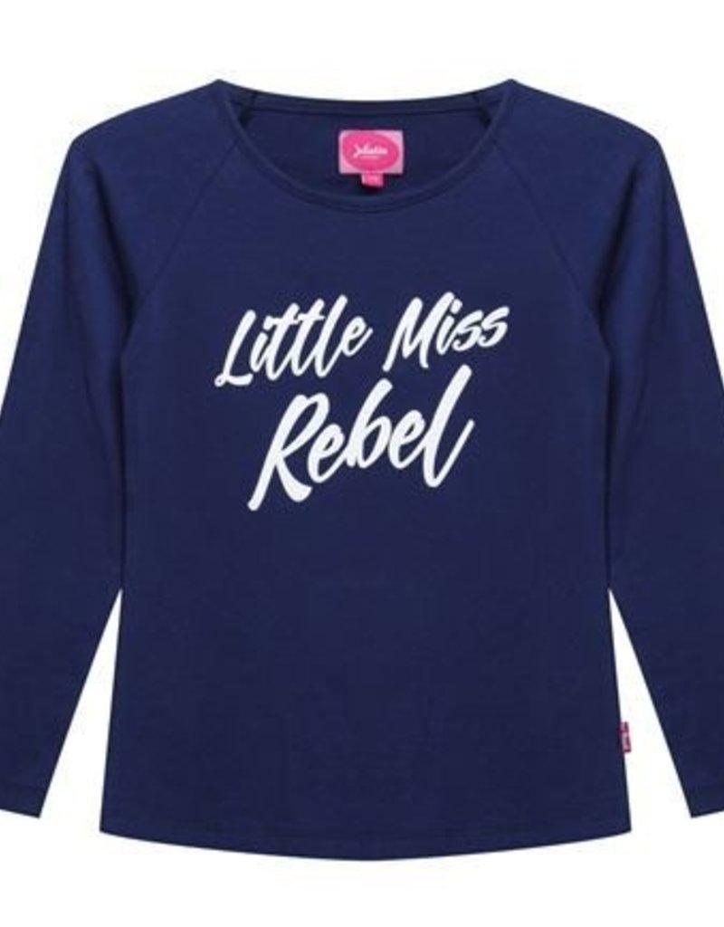 Little miss juliette T-shirt l/m Little Miss Rebel