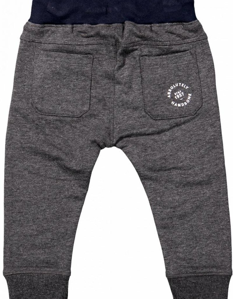 Born to be famous Pants Dark Grey Melange