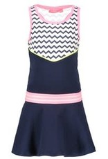 B. Nosy Girls dress with zigzag top part