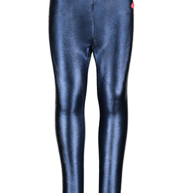 Kidz Art Girls legging coated & bonded PU + elastic waist