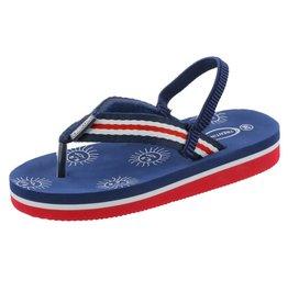 Trentino slippers Samo Navy