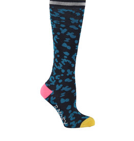B. Nosy Girls socks with panther intarsia