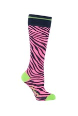 B. Nosy Girls socks with zebra intarsia