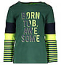B. Nosy Baby boys shirt with different cut & sew on sleeves, hd print