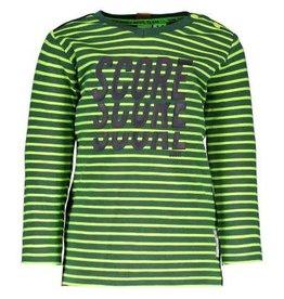 B. Nosy Baby boys stripe ls shirt with plain backside, HD print